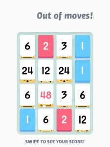 Threes joc matematic