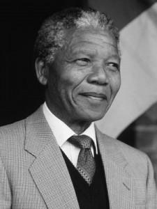 Nelson Mandela Portret