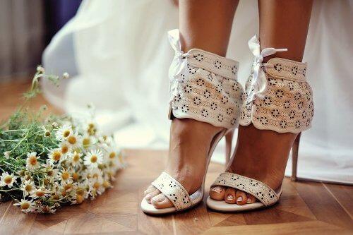 Pantofi de nunta luati de la boutique